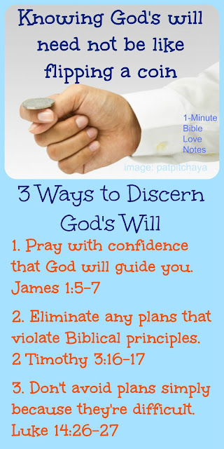 3 Ways to Discern God's Will