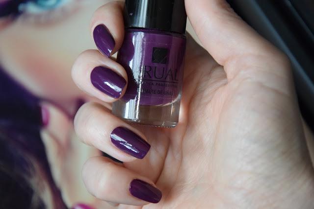 ARUAL, nr. 36 Purple - Lakier do paznokci.