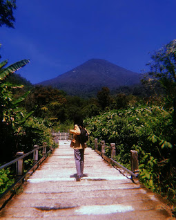 curug cibereum, gunung gede, telaga biru, rawa gayonggong