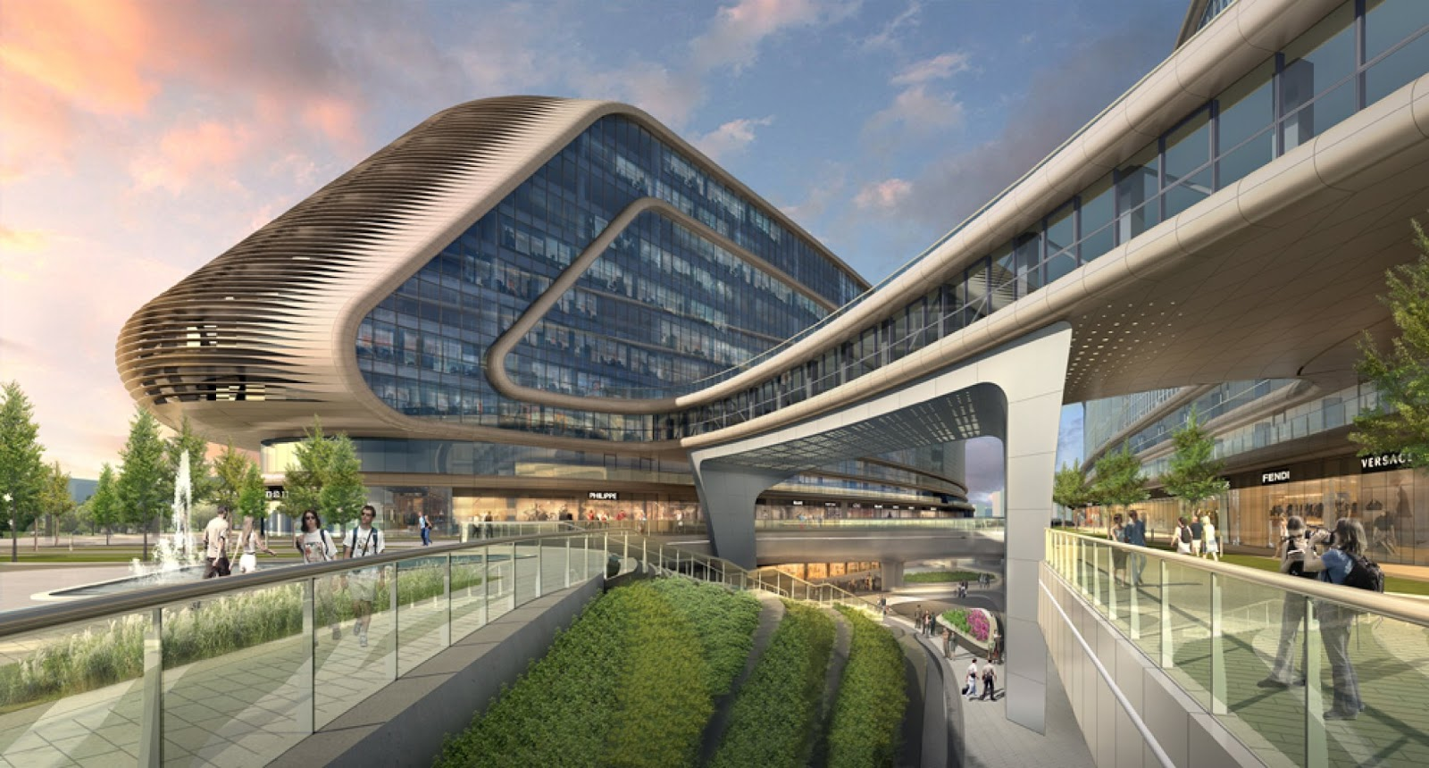 Concrete Home Floor Plans Modern Cabinet Futuristic Sky Soho By Zaha Hadid