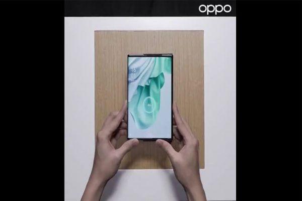 شركة Oppo تفاجئ الجميع بفيديو هاتف جديد بشاشة مميزة و بالشحن اللاسلكي عن بعد