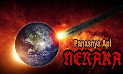 Astaghfirullah, Ternyata Api Neraka Pernah Sampai ke Dunia, Begini Panasnya
