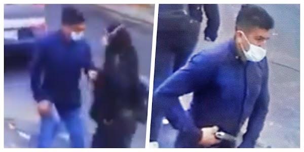 Difunden VIDEO de ladrón que  robo a joven; piden AYUDA para identificarlo