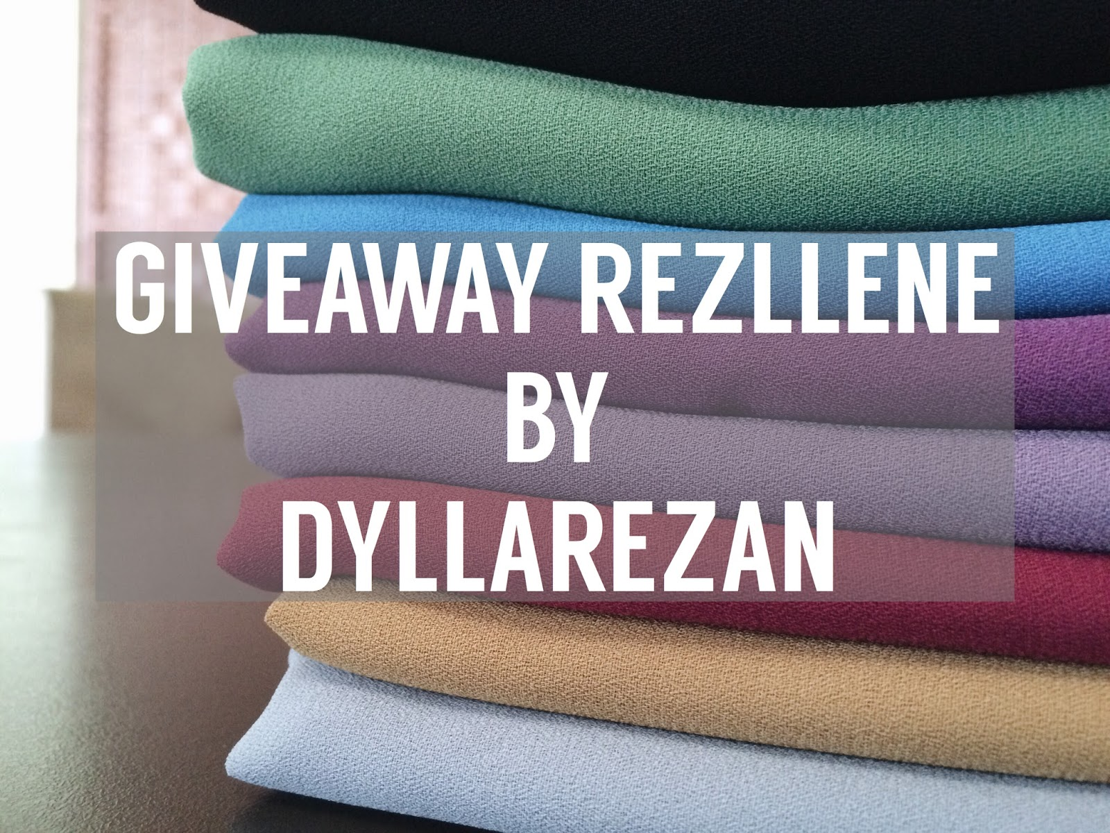 REZLLENE GIVEAWAY BY DYLLAREZAN