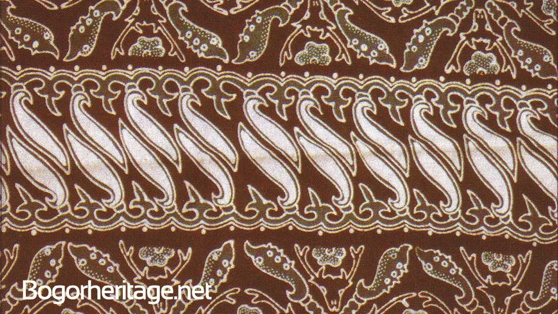 Motif Batik Bogor