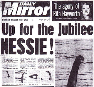Up for the jubilee tony doc shiels nessie daily mirror