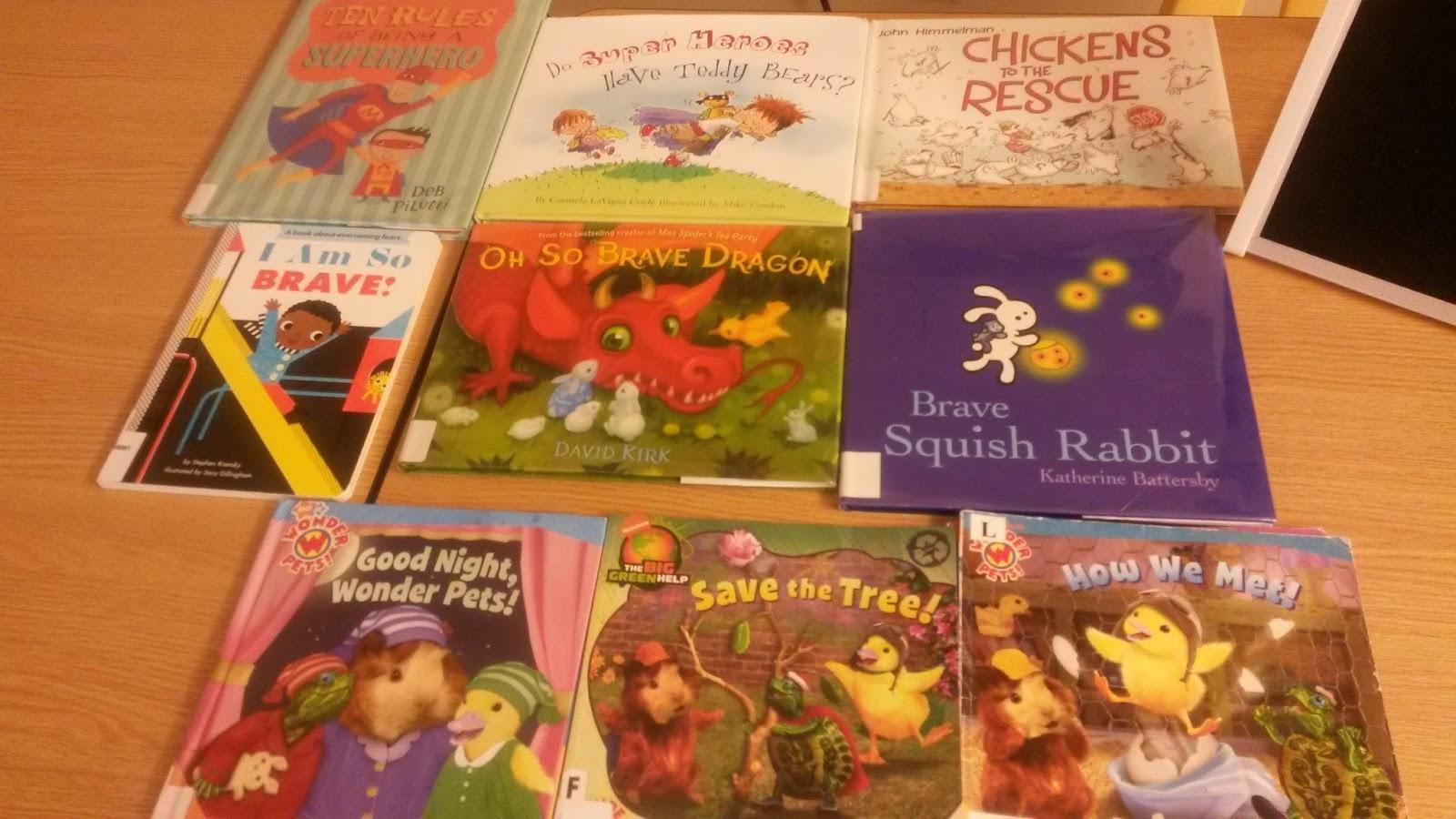 One Little Librarian Preschool Fun Wonderful Wonder Pets
