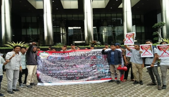 Persma NTB Mendesak KPK Periksa Bupati Kabupaten Lombok Utara
