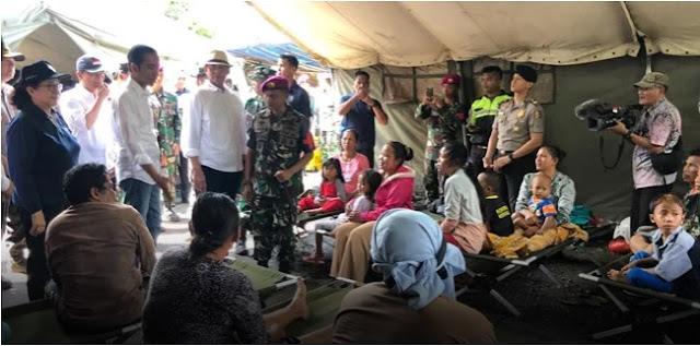 Jokowi Kaget Tak Mengira Tsunami Hantam Tanjung Lesung Sekitarnya Gara-gara Ini