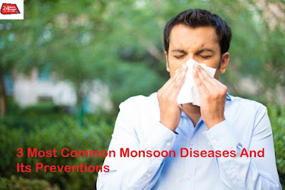 3 Most Common Monsoon Diseases And Its Preventions