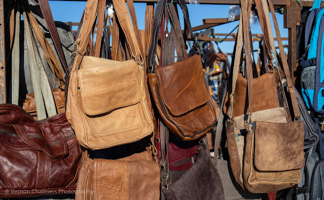 Hand-made leather bags and goods. All produced from factory off-cuts