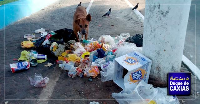 Caxias intensifica campanha de coleta de lixo no segundo distrito