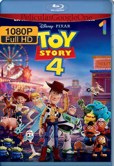 Toy Story 4 [2019] [1080p BRrip] [Latino-Inglés] [GoogleDrive]