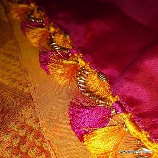 saree kuchu designs images