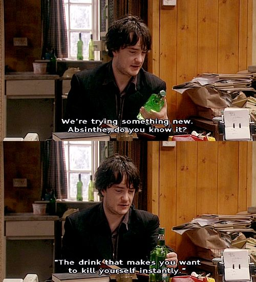 An amusing quote from Bernard Black
