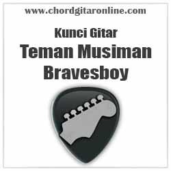 Chord Bravesboy Teman Musiman