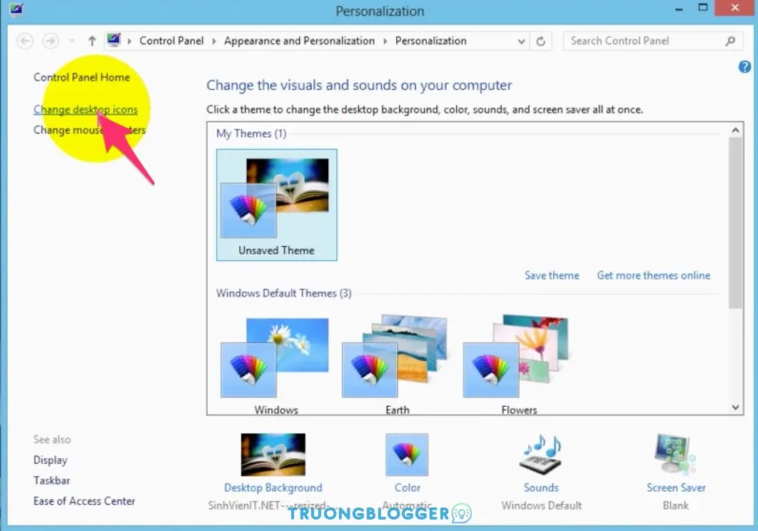 Cách đưa icon This PC, Computer ra màn hình Desktop Windows