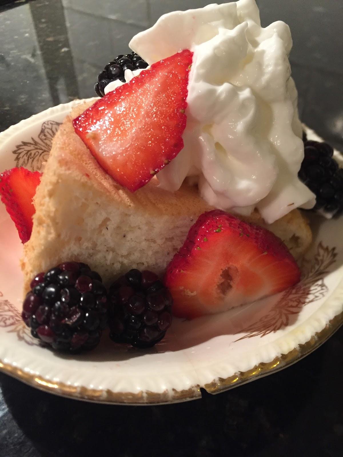 Healthy Angel Food Cake Recipe Sugar Free