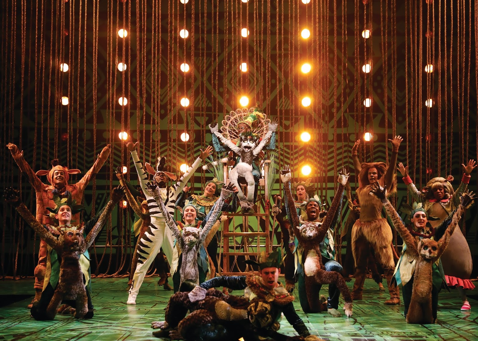 Chiil Mama Opening Madagascar A Musical Adventure At Chicago