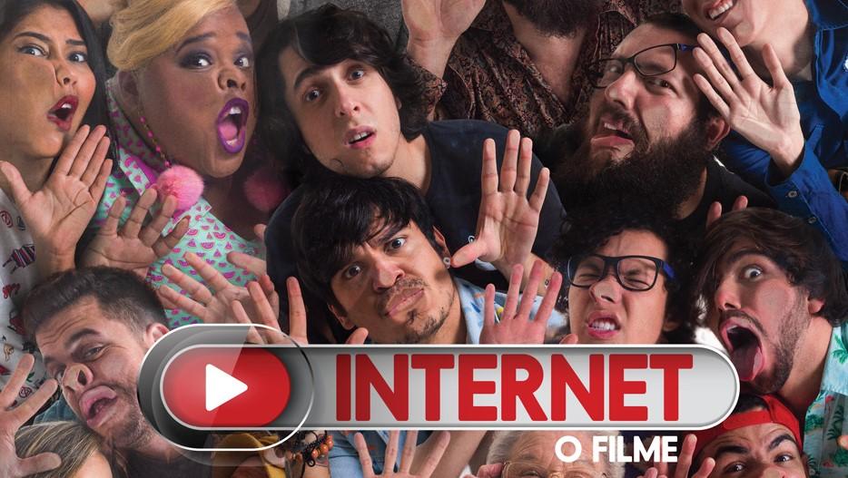 """Cartazes inéditos de """"Internet - O Filme"""" apresentam os personagens"""