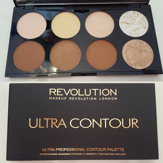ultra contour makeup revolution london