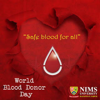 World Blood Donor Day 2019 Nims University