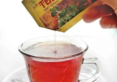 teh campur tolak angin