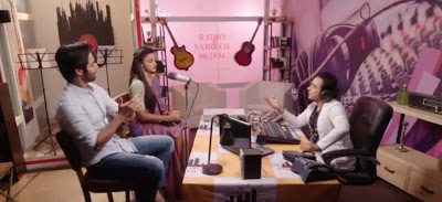 """<img src=""""Sahil and vedika.png"""" alt=""""Sahil and vedika in love express radio show with raj. Age Is Just A Number. Age Is Just A Number ."""">"""