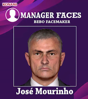 PES 2017 Faces Jose Mourinho by Bebo