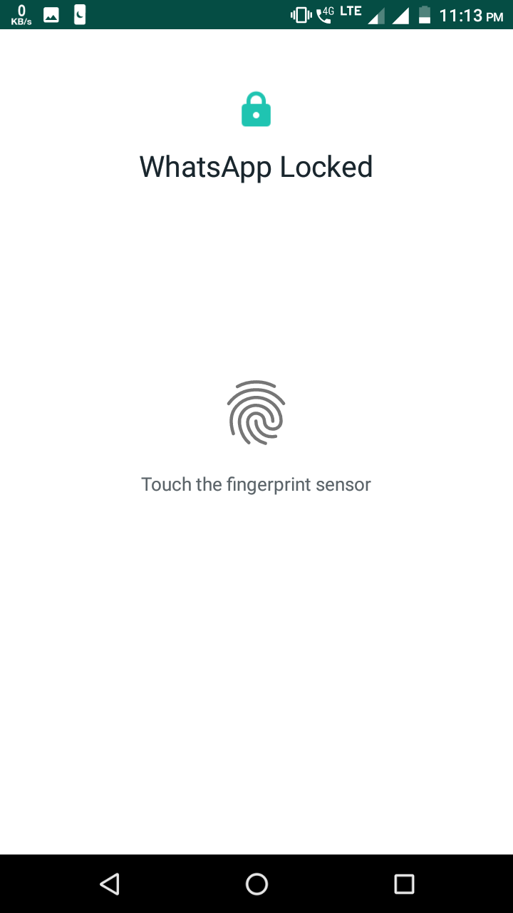 Whatsapp new feature, whatsapp fingerprint