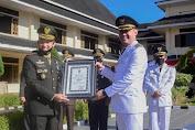 Pangdam II Sriwijaya Beri Penghargaan Kepada Pemda Tebo