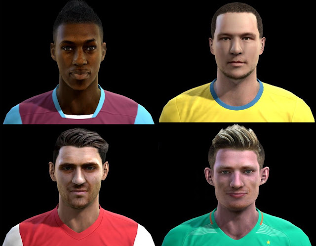 PES 2013 Facepack Update 02/11/2016 by Pablobyk
