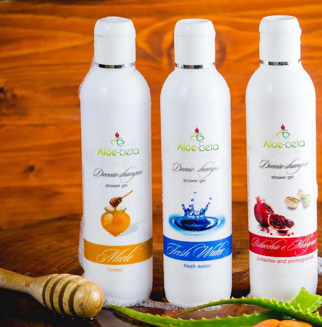 shampi-doccia con Aloe Arborescens agisce sui capelli e sul corpo in modo delicato