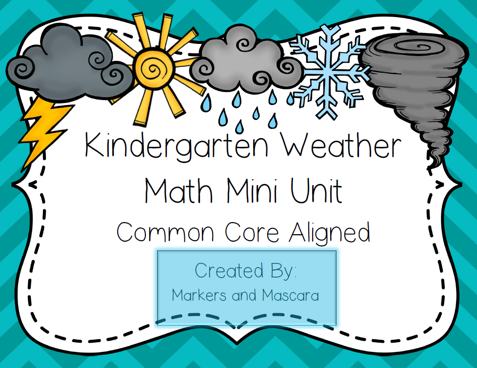 http://www.teacherspayteachers.com/Product/Weather-Common-Core-Math-Mini-Unit-1230099