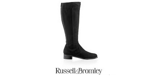 The Duchess Of Cambridge's RUSSELL and BROMLEY Suede Charge Boots