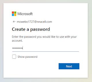 Set the Password