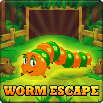 Play Games2Jolly Cute Worm Escape