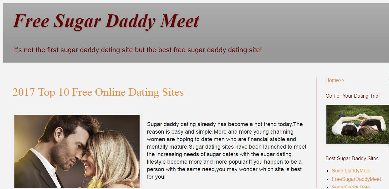 sugar dating lifestyle