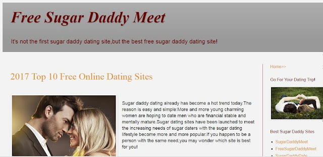 sugar daddy dating websites free Reviews of the best sugar daddy dating sites on the web, read the  besides,  sugardaddyforme provides 3 days free trial for new users so far.