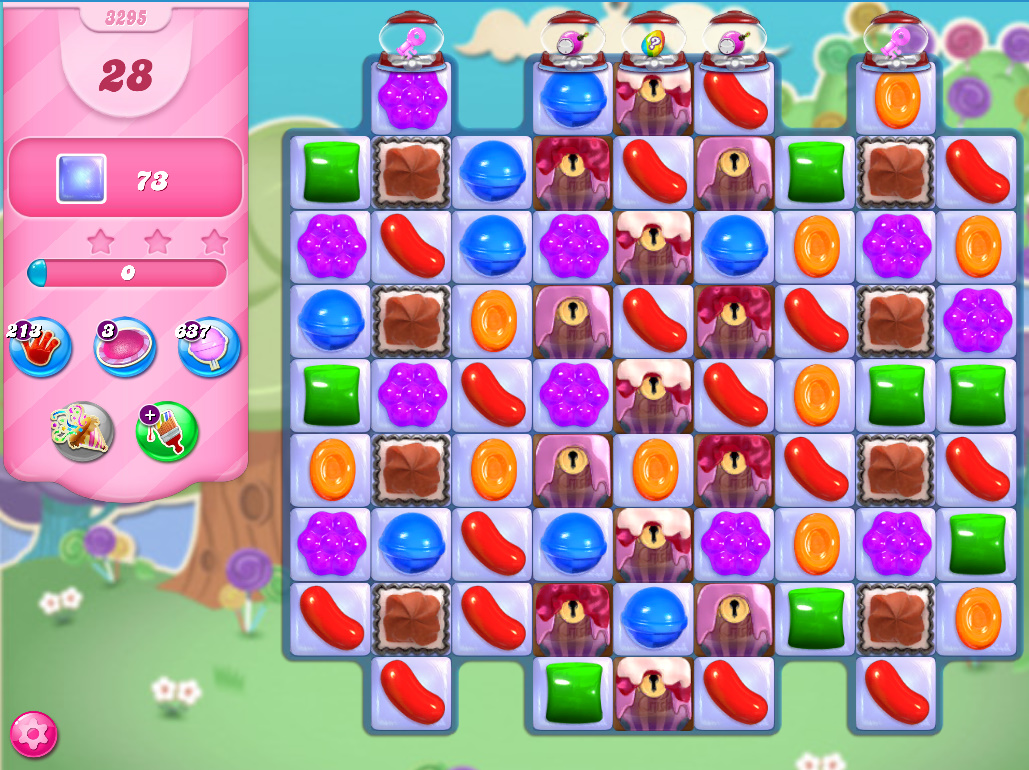 Candy Crush Saga level 3295