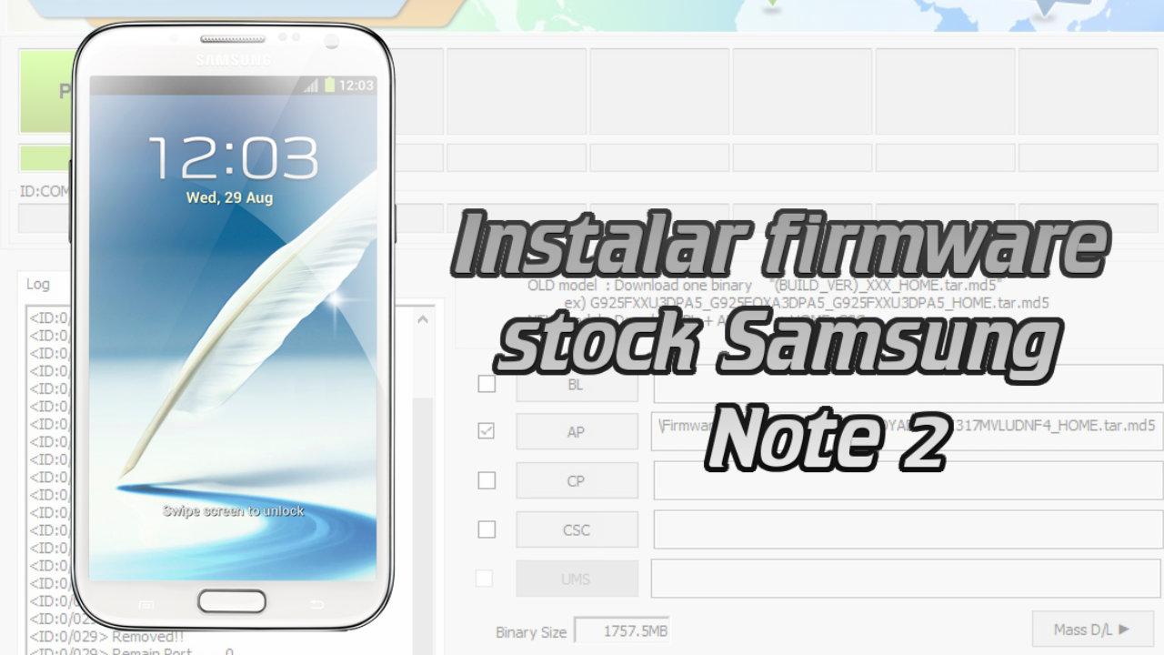 como instalar firmware samsung galaxy 2 gt-i9100