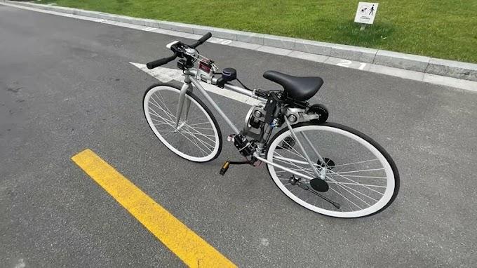 Bicicleta de conducción autónoma desarrollada por ingenieros de Huawei puede operar sin tripulación