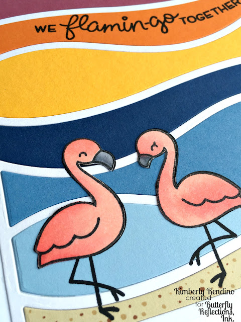 flamingos | lawn fawn | mft | cardmaking | papercraft | handmade card | flamingo together | kimpletekreativity.blogspot.com