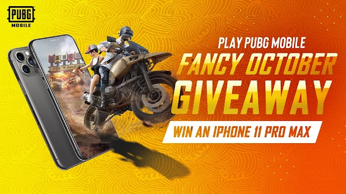 PUBG Mobile win iPhone 11, Headphones and exciting gifts