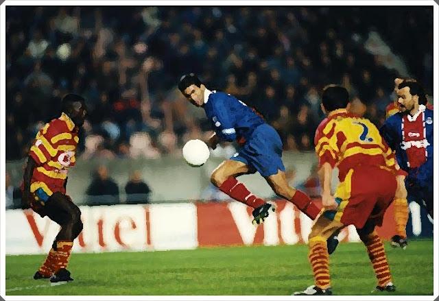 Lens PSG Coupe de France 1997-98