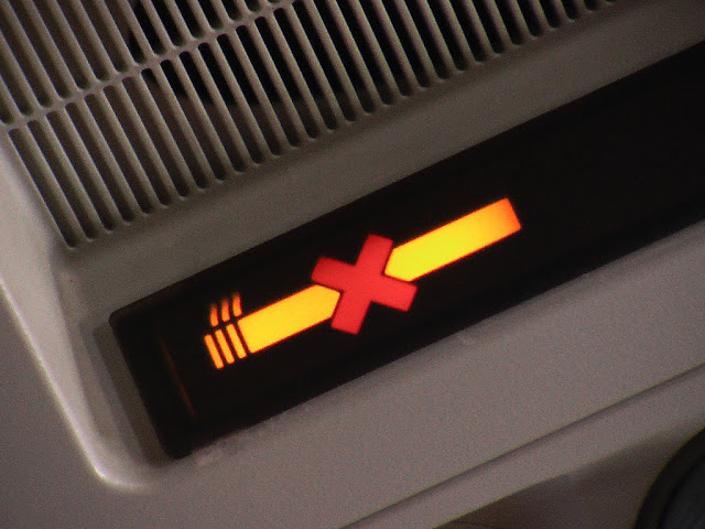 Why Are There Ashtrays Installed On Planes?