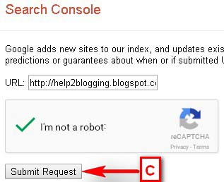 Manual URL Submission To Google