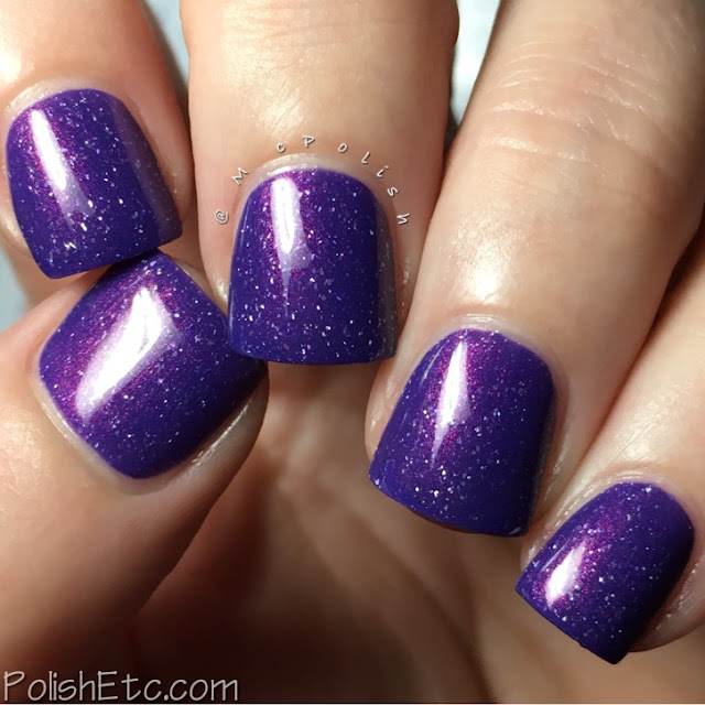 Road to Polish Con - Week 11 - McPolish - The Violet of Shy-Town by LynB Designs
