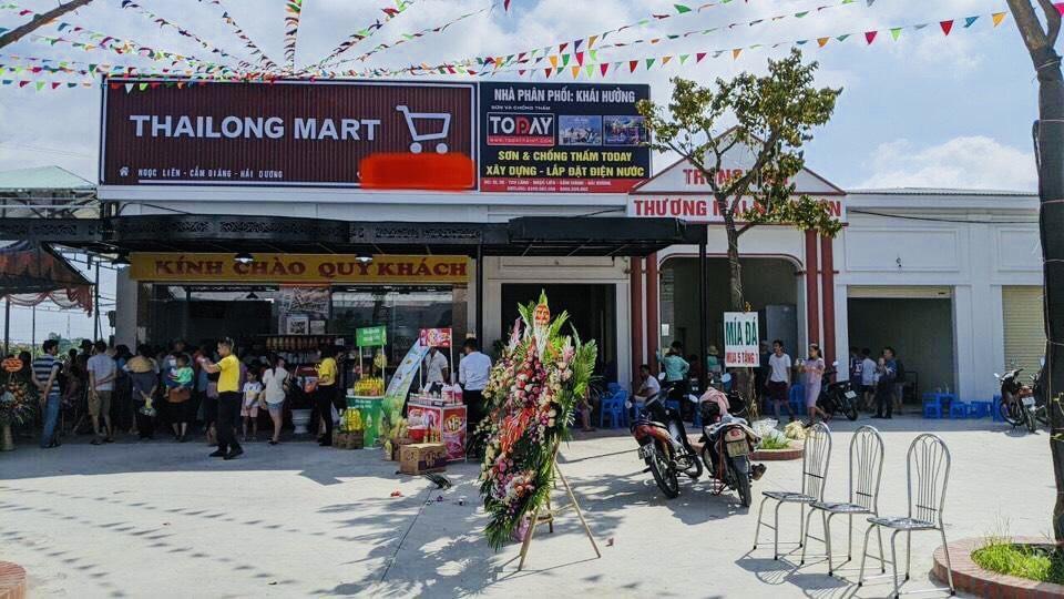 ISAAC setup hoàn thiện cho siêu thị mini tại Cẩm Giàng