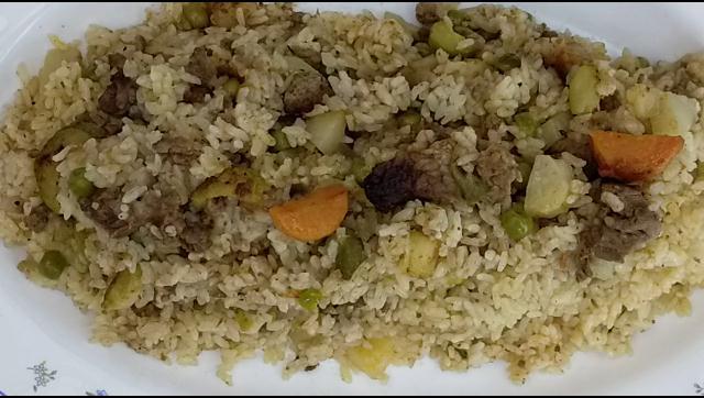اطعم و الذ و افيد برام ارز باللحمة و الخضار الشيف محمد الدخميسي